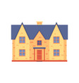 house renovation after repair work icon vector image