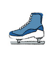 ice roller skate sport equipment image vector image vector image