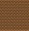 abstract brown background circles volume vector image