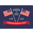 4th of July Poster vector image vector image