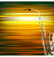 abstract green blur music background with vector image vector image