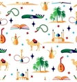 Arabian seamless pattern vector image vector image