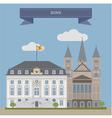 Bonn vector image vector image