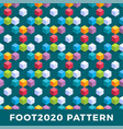 cube isometric seamless pattern design modern vector image vector image