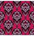 Damask Flower seamless pattern vector image vector image
