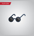isolated eyeglasses flat icon spectacles vector image vector image