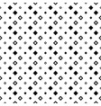 monochrome seamless abstract geometrical square vector image vector image