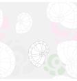 sea shells background 2 vector image