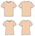 T shirts vector image vector image