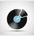 vintage retro vinyl music disc icon vector image