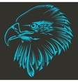 Bird tribal tattoo vector image