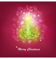 Christmas Bright Tree vector image vector image
