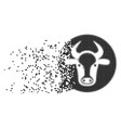 cow message balloon dissipated pixel icon