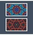 Festive Tribal colorful ornamental ethnic banner vector image vector image