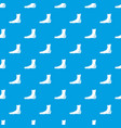 foot heel pattern seamless blue vector image vector image