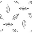 hand drawn nature pattern vector image vector image