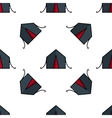 Hunting flat icon pattern vector image