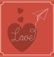 Lovel design vector image