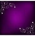 Purple background vector image vector image