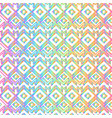 rainbow color geometric pattern vector image vector image