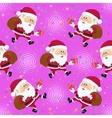 Santa Claus Seamless vector image
