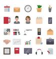 business and office icon business and office icon vector image vector image