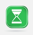 Color icon with shadow hourglass waiting vector image