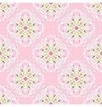 pink flourishSeamless pattern vector image vector image