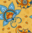 Seamless colorful pattern in Turkish style vector image vector image