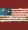 usa flag concept vector image vector image