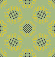 Vintage background Sunflowers seamless pattern vector image