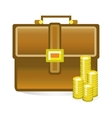 isolated business bag vector image