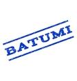 Batumi Watermark Stamp vector image vector image
