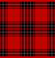 clan wemyss tartan plaid seamless pattern vector image vector image