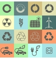 Ecology icons Set 02 vector image