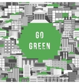 Go Green 1 vector image vector image