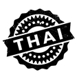Thai stamp rubber grunge vector image vector image