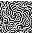 abstract striped background spiral vortex vector image vector image