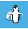 Animal Pinguin Design Flat vector image vector image
