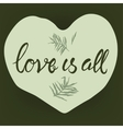 Love is all typography