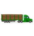 semi truck trailer concept 09 vector image vector image