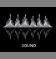 silver pulse music player banner audio metallic