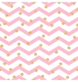 Chevron zigzag pink and white seamless pattern vector image vector image
