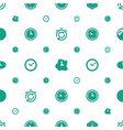 chronometer icons pattern seamless white vector image vector image
