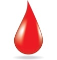 Concept of blood donation vector image vector image