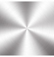 silver metallic radial gradient with scratches vector image