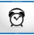 alarm clock web icon vector image