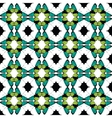 Green Black Butterfly Tribal Seamless vector image vector image