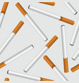 cigarette smoke seamless background smoking area vector image