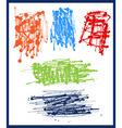 Splash spray abstract patterns vector image